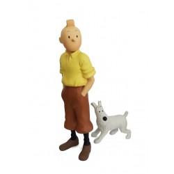 Leblon Moulinsart Tintin - Tintin et Milou debout