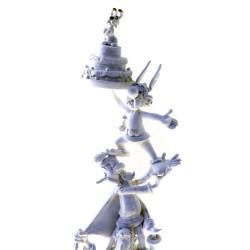 Pixi Uderzo Astérix - La colonne Astérix (monochrome)
