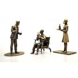 "Pixi Jacobs Blake et Mortimer - ""Bronze"" Blake dans son fauteuil"