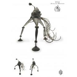 """Pixi Jacobs Blake et Mortimer - """"Bronze"""" Le Tripode de la Guerre des Mondes"""