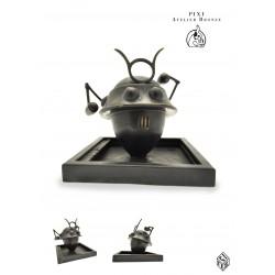 """Pixi Jacobs Blake et Mortimer - """"Bronze"""" Le Robot Samouraï des 3 formules du Professeur Sato"""