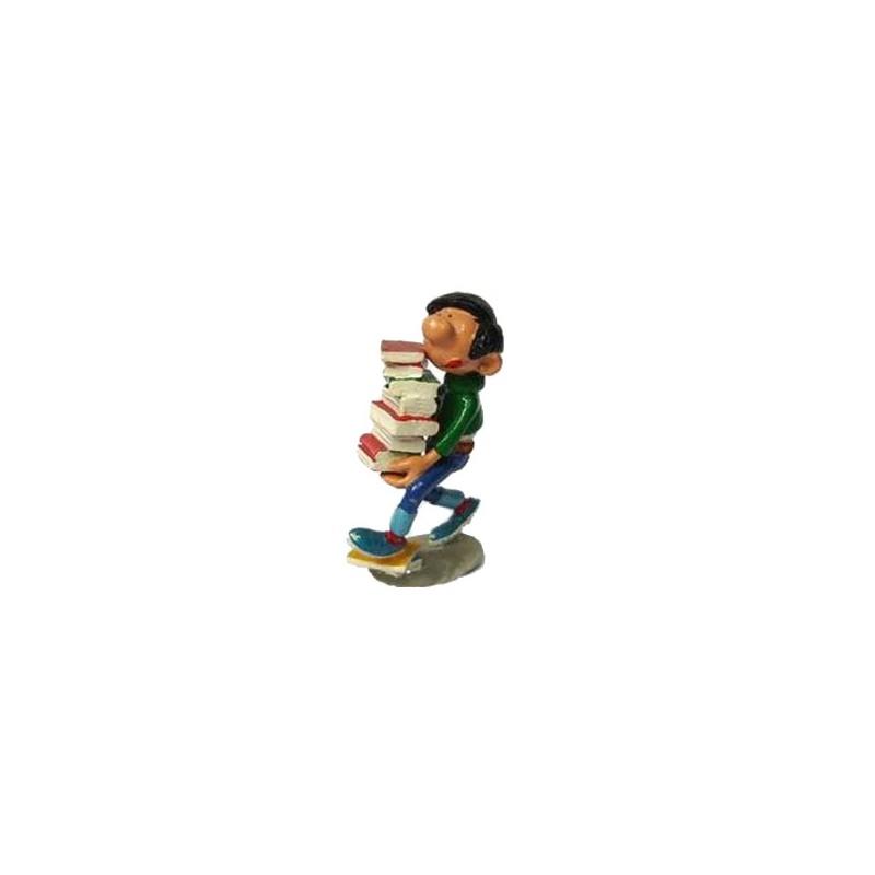 Pixi Franquin Gaston - Gaston avec livres