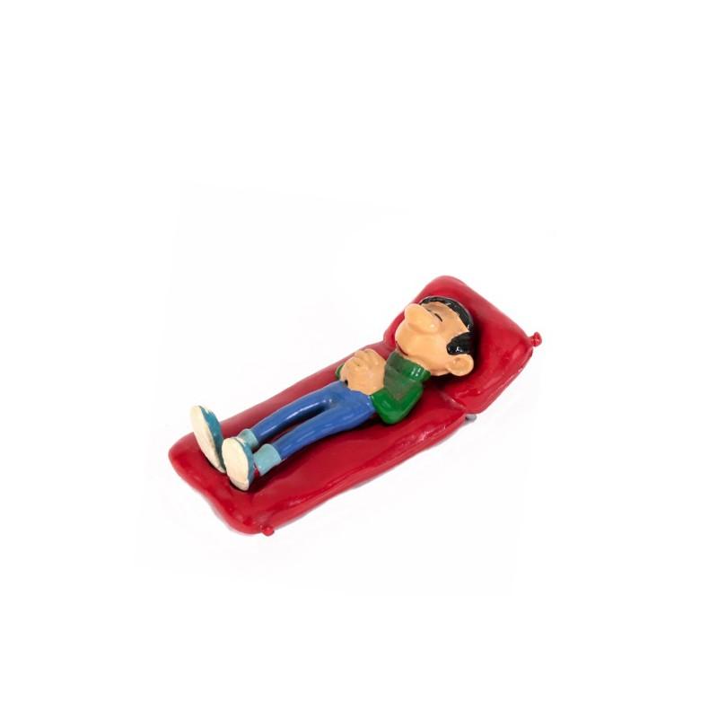 Pixi Franquin Gaston - Gaston sur son lit de camp