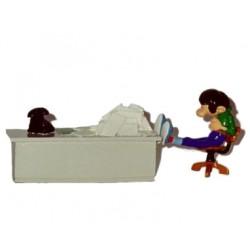Pixi Franquin Gaston - Gaston à son bureau