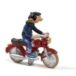 Pixi Franquin Gaston - Gaston à moto