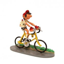 Pixi Franquin Gaston - Gaston coureur cycliste (Maillot à pois rouge)