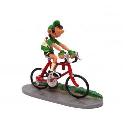 Pixi Franquin Gaston - Gaston coureur cycliste (Maillot vert)