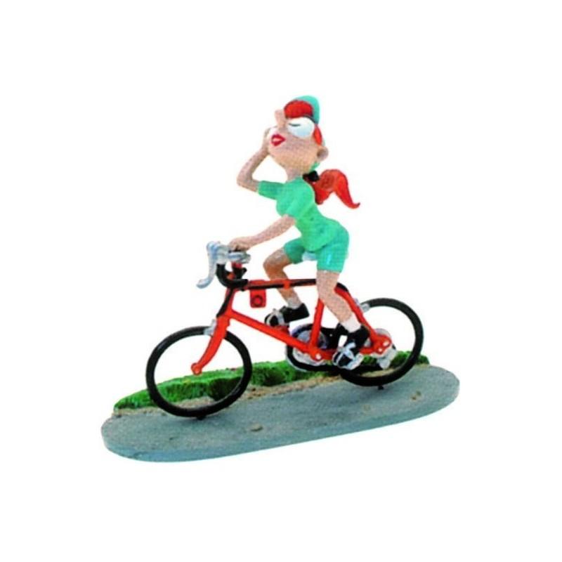 Pixi Franquin Gaston - Mademoiselle Jeanne cycliste (Maillot vert)