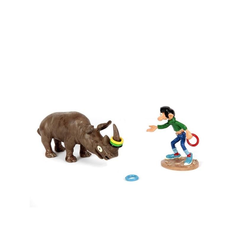 Pixi Franquin Gaston - Gaston et le rhinocéros
