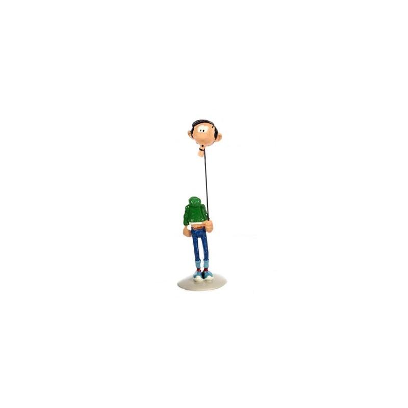 Pixi Franquin Gaston - Gaston tenant sa tête comme un ballon