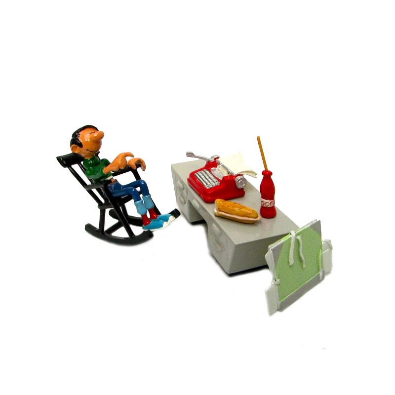 Pixi Franquin Gaston - Gaston à son bureau (2ème version)