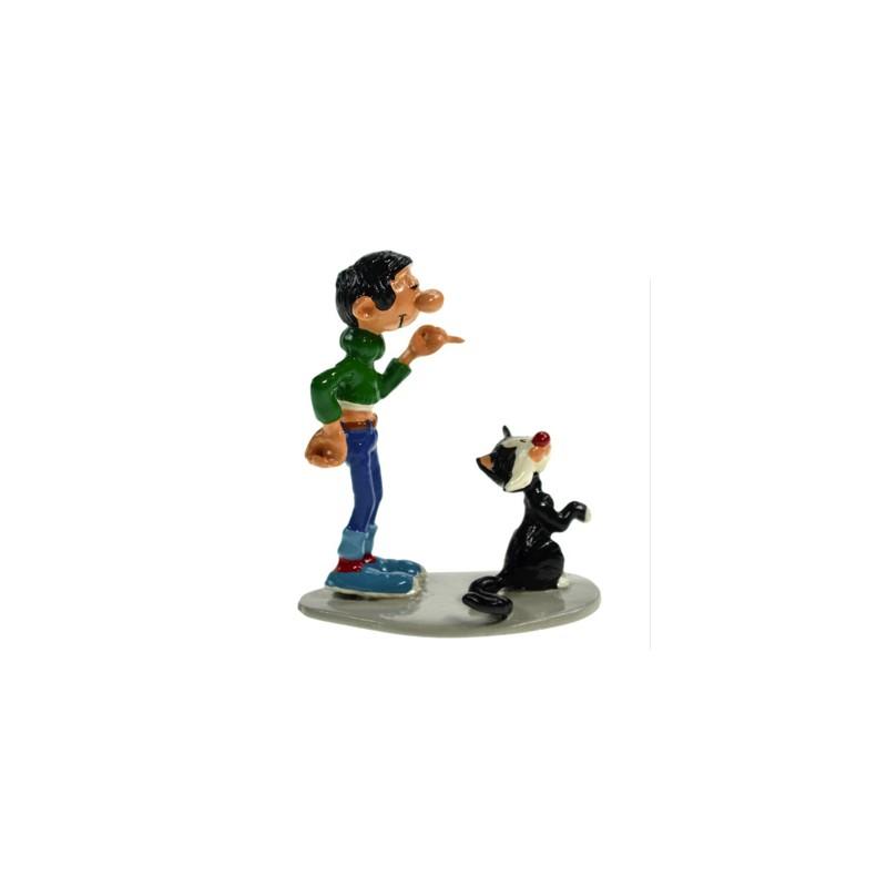 Pixi Franquin Gaston -  Gaston et son chat