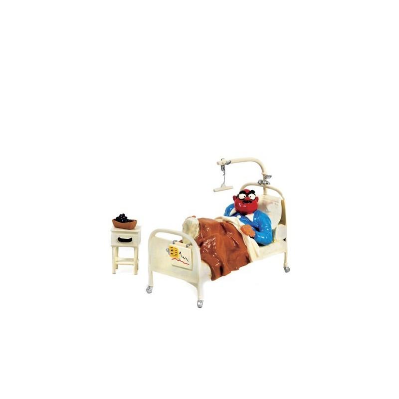 Pixi Franquin Gaston -  Mr De Mesmaeker sur son lit d'hôpital