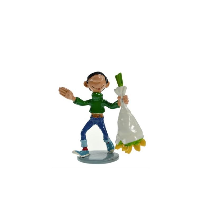 Pixi Franquin Gaston -  Gaston au bouquet de fleurs