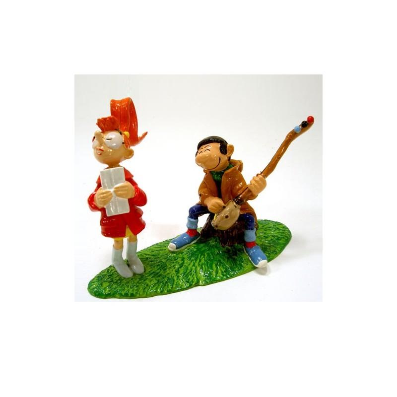 Pixi Franquin Gaston -  La sérénade de Gaston à Mlle Jeanne