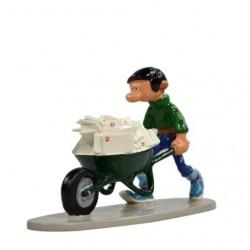 Pixi Franquin Gaston -  Gaston et sa brouette de courrier