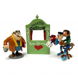 Pixi Franquin Gaston -  Le théâtre de marionnettes Gaston et M. De Mesmaeker