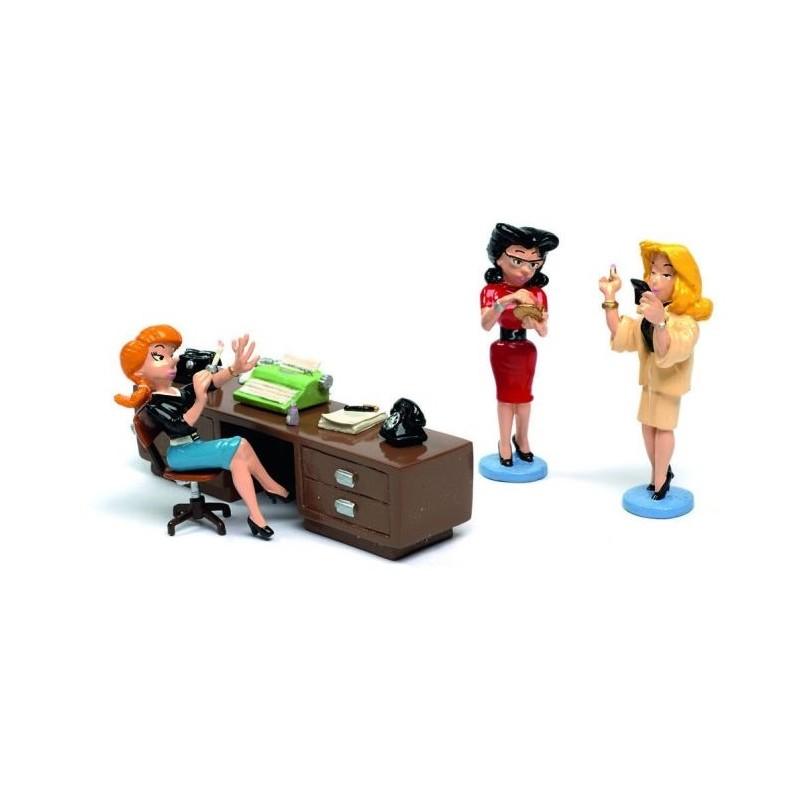 Pixi Franquin Gaston - Les secrétaires Suzanne, Yvonne et Sonia