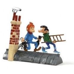 Pixi Franquin Gaston - Gaston et Manu le ramoneur
