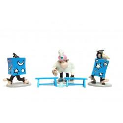 Pixi Franquin Gaston - Le tour de magie des 3 chimpanzés