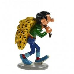 Pixi Franquin Gaston - Gaston portant un régime de bananes