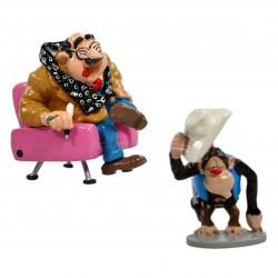 Pixi Franquin Gaston - M. De Mesmaeker et le chimpanzé déguisé en cow-boy
