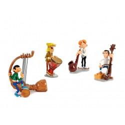 Pixi Franquin Gaston - Groupe Roi des Sons (Gaston, l'Anglais, Bertrand et Jules)