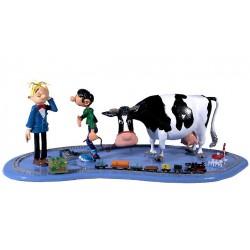 Pixi Franquin Gaston - Le train électrique de Gaston (avec Gaston, sa vache et Fantasio)