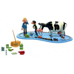 Pixi Franquin Gaston - Le train électrique de Gaston (avec Gaston, sa vache et Fantasio) (Version spéciale)