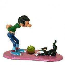 Pixi Franquin Gaston - Gaston et son chat griffant la moquette (Version spéciale)