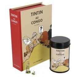 Moulinsart Tintin - Coffret Tintin et Milou au Congo (Lion)