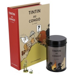 Moulinsart Tintin - Coffret Tintin et Milou au Congo (Feu de Camp)