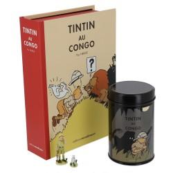 Moulinsart Tintin - Coffret Tintin et Milou au Congo VO (Homme Léopard)