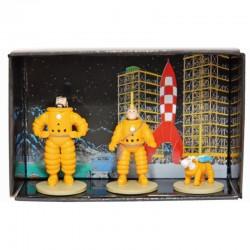 Figurine Moulinsart Tintin - Coffret Lune micro-figurines (Atlas)