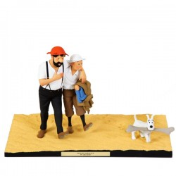 "Fariboles Moulinsart Tintin - ""Le Pays de la Soif"""