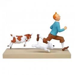 "Fariboles Moulinsart Tintin - Tintin et Milou ""La Chèvre"""