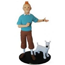 """Fariboles Moulinsart Tintin - Tintin et Milou """"C'est merveilleux"""""""