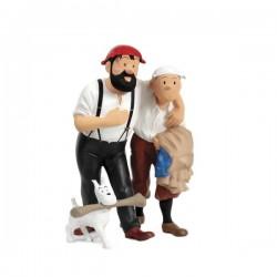 Leblon Moulinsart Tintin - Tintin, Haddock, Milou désert