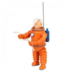 Leblon Moulinsart Tintin - Tintin cosmonaute lunaire