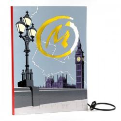 Leblon Delienne Jacobs Blake & Mortimer - Lampe livre Marque Jaune