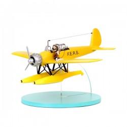 Véhicule Moulinsart Tintin - Hydravion Arado jaune
