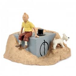 Leblon Moulinsart Tintin - Tintin et la porte du tombeau