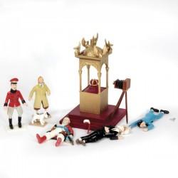 Pixi Moulinsart Tintin - Scène du Sceptre d'Ottokar