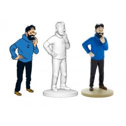 Figurine Moulinsart Tintin - Haddock dubitatif (kiosque)
