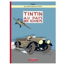 Livre Moulinsart Tintin - Album Tintin au Pays des Soviets Version colorisée