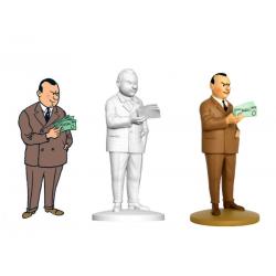Figurine Moulinsart Tintin - Al Capone le roi des gangsters (kiosque)