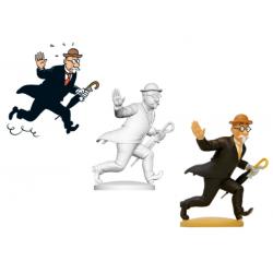 Figurine Moulinsart Tintin - Aristide Filoselle le voleur de portefeuilles (kiosque)