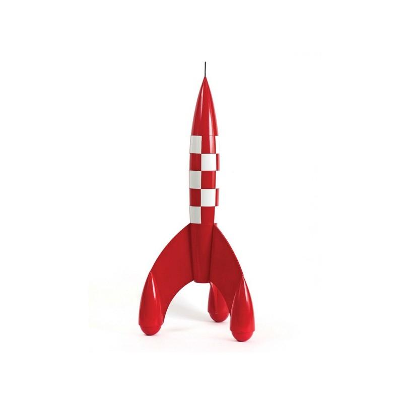 Véhicule Moulinsart Tintin - Fusée lunaire 23 cm (bois)