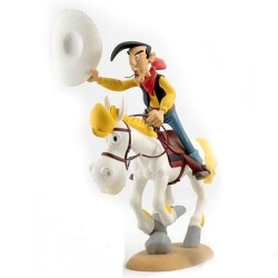 Leblon Delienne Morris Lucky Luke - Lucky Luke et Jolly Jumper au galop