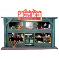 Pixi Morris Lucky Luke - Vitrine Objets du Mythe Lucky Luke